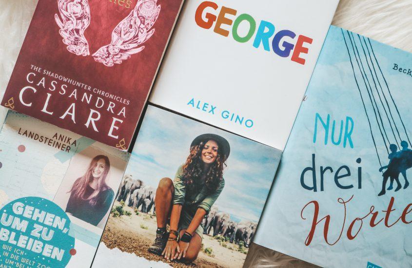 5 Bücher, die mich glücklich machen