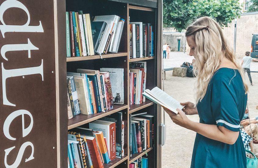 StadtLesen in Trier | Ein Lesewohnzimmer unter freiem Himmel