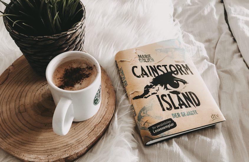 Rezension: Cainstorm Island: Der Gejagte – Marie Golien