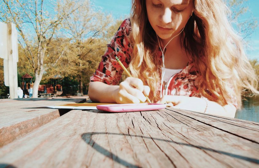 Ja, ich schreibe | Eine kleine Leseprobe