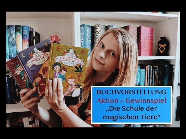 Video: Buchvorstellung Die Schule der magischen Tiere Teil 1-3 | Aktion + Gewinnspiel