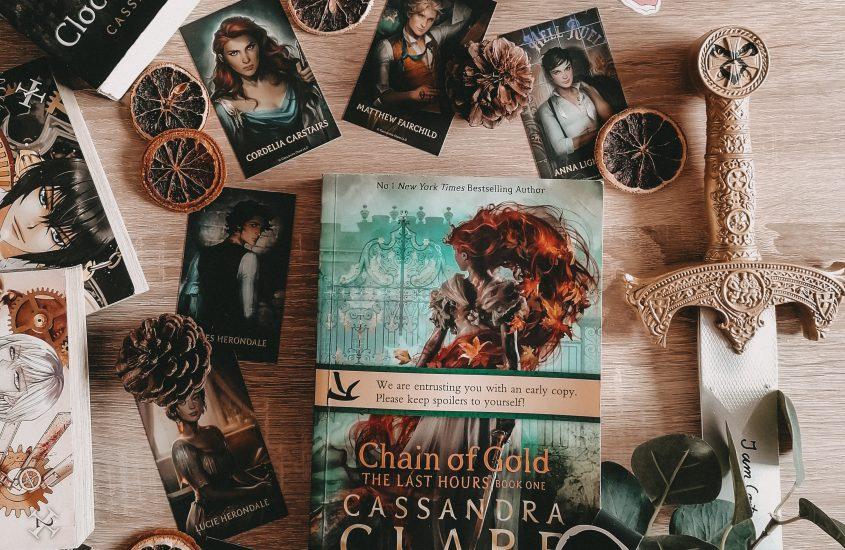 Rezension: Chain of Gold – Cassandra Clare | Happy Book Birthday