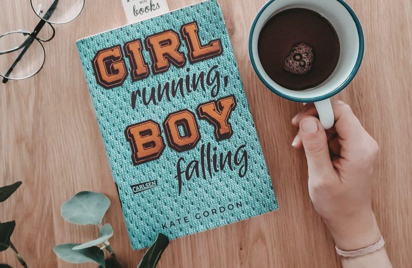 Rezension: Girl Running, Boy Falling – Kate Gordon